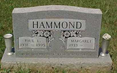 HAMMOND, PAUL E. - Scioto County, Ohio | PAUL E. HAMMOND - Ohio Gravestone Photos