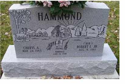 HAMMOND, CHERYL A. - Scioto County, Ohio | CHERYL A. HAMMOND - Ohio Gravestone Photos