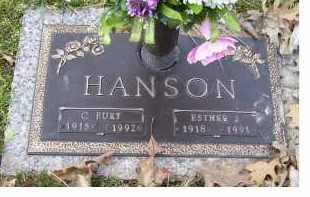 HANSON, ESTHER J. - Scioto County, Ohio | ESTHER J. HANSON - Ohio Gravestone Photos
