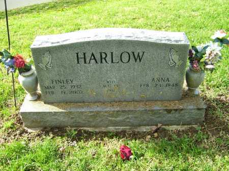 HARLOW, FINLEY - Scioto County, Ohio | FINLEY HARLOW - Ohio Gravestone Photos