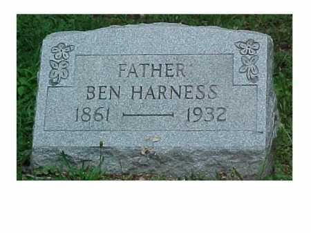 HARNESS, BEN - Scioto County, Ohio | BEN HARNESS - Ohio Gravestone Photos