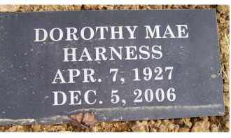 HARNESS, DOROTHY MAE - Scioto County, Ohio | DOROTHY MAE HARNESS - Ohio Gravestone Photos