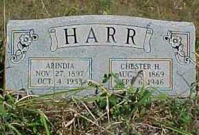 HARR, CHESTER H. - Scioto County, Ohio | CHESTER H. HARR - Ohio Gravestone Photos