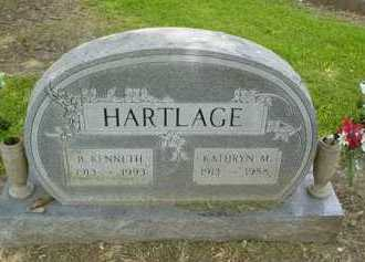 HARTLAGE, B. KENNETH - Scioto County, Ohio | B. KENNETH HARTLAGE - Ohio Gravestone Photos