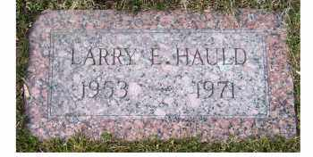 HAULD, LARRY E. - Scioto County, Ohio | LARRY E. HAULD - Ohio Gravestone Photos