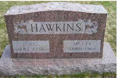 HAWKINS, METTY - Scioto County, Ohio | METTY HAWKINS - Ohio Gravestone Photos