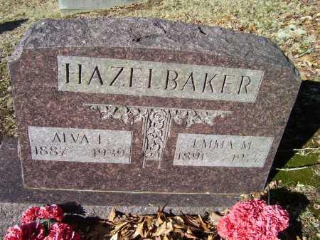 HAZELBAKER, EMMA M. - Scioto County, Ohio | EMMA M. HAZELBAKER - Ohio Gravestone Photos