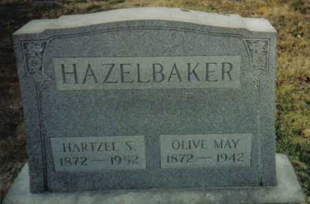 HAZELBAKER, OLIVE MAY - Scioto County, Ohio | OLIVE MAY HAZELBAKER - Ohio Gravestone Photos