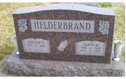 HELDERBRAND, LLOYD M. - Scioto County, Ohio | LLOYD M. HELDERBRAND - Ohio Gravestone Photos