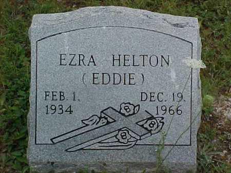HELTON, EZRA - Scioto County, Ohio | EZRA HELTON - Ohio Gravestone Photos