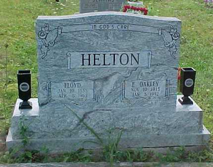 HELTON, E. OAKLEY - Scioto County, Ohio | E. OAKLEY HELTON - Ohio Gravestone Photos