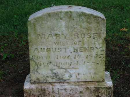 HENRY, AUGUST - Scioto County, Ohio | AUGUST HENRY - Ohio Gravestone Photos