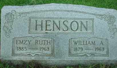 HENSON, WILLIAM A. - Scioto County, Ohio | WILLIAM A. HENSON - Ohio Gravestone Photos