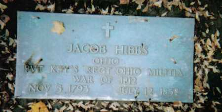 HIBBS, JACOB - Scioto County, Ohio | JACOB HIBBS - Ohio Gravestone Photos