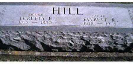 HILL, EVERETT R. - Scioto County, Ohio | EVERETT R. HILL - Ohio Gravestone Photos