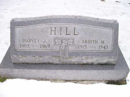 HILL, HARVEY J. - Scioto County, Ohio | HARVEY J. HILL - Ohio Gravestone Photos