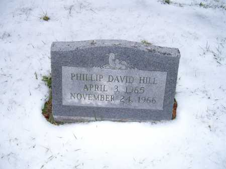 HILL, PHILLIP DAVID - Scioto County, Ohio | PHILLIP DAVID HILL - Ohio Gravestone Photos