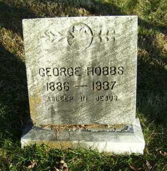HOBBS, GEORGE - Scioto County, Ohio   GEORGE HOBBS - Ohio Gravestone Photos