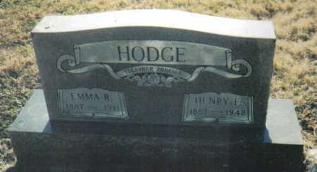 HODGE, EMMA R. - Scioto County, Ohio | EMMA R. HODGE - Ohio Gravestone Photos