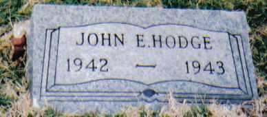 HODGE, JOHN E. - Scioto County, Ohio | JOHN E. HODGE - Ohio Gravestone Photos