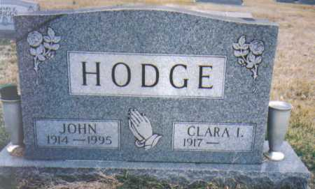 HODGE, CLARA I. - Scioto County, Ohio | CLARA I. HODGE - Ohio Gravestone Photos
