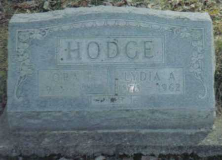 HODGE, LYDIA A. - Scioto County, Ohio | LYDIA A. HODGE - Ohio Gravestone Photos