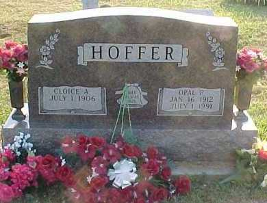 HOFFER, CLOICE A. - Scioto County, Ohio | CLOICE A. HOFFER - Ohio Gravestone Photos