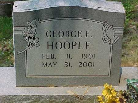 HOOPLE, GEORGE F. - Scioto County, Ohio | GEORGE F. HOOPLE - Ohio Gravestone Photos