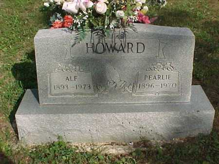 HOWARD, ALF - Scioto County, Ohio | ALF HOWARD - Ohio Gravestone Photos