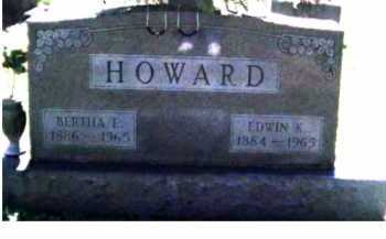 HOWARD, EDWIN K. - Scioto County, Ohio | EDWIN K. HOWARD - Ohio Gravestone Photos