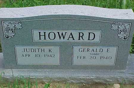 HOWARD, GERALD E. - Scioto County, Ohio | GERALD E. HOWARD - Ohio Gravestone Photos