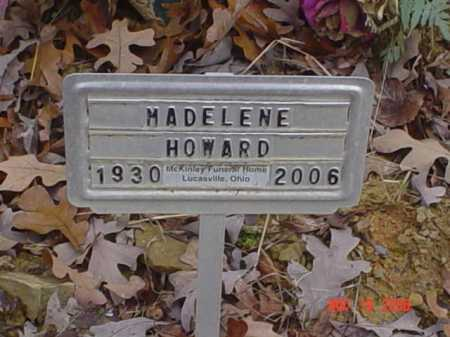 HOWARD, MADELENE - Scioto County, Ohio | MADELENE HOWARD - Ohio Gravestone Photos
