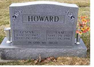 HOWARD, GENEVA - Scioto County, Ohio | GENEVA HOWARD - Ohio Gravestone Photos