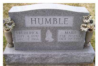 HUMBLE, MARIE - Scioto County, Ohio | MARIE HUMBLE - Ohio Gravestone Photos