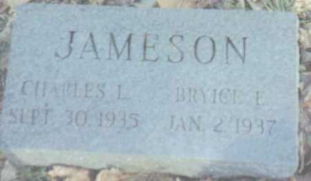 JAMESON, CHARLES L. - Scioto County, Ohio | CHARLES L. JAMESON - Ohio Gravestone Photos