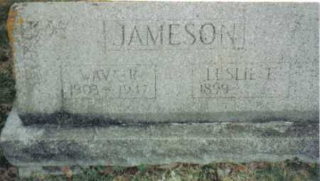JAMESON, LESLIE E. - Scioto County, Ohio | LESLIE E. JAMESON - Ohio Gravestone Photos