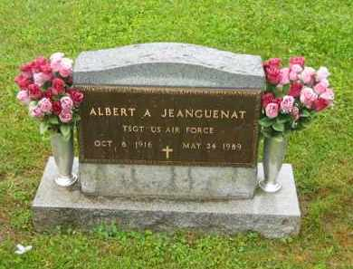 JEANGUENAT, ALBERT A. - Scioto County, Ohio | ALBERT A. JEANGUENAT - Ohio Gravestone Photos