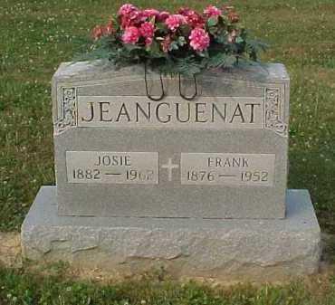 JEANGUENAT, JOSIE - Scioto County, Ohio | JOSIE JEANGUENAT - Ohio Gravestone Photos