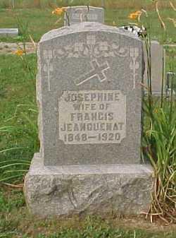 JEANGUENAT, JOSEPHINE - Scioto County, Ohio | JOSEPHINE JEANGUENAT - Ohio Gravestone Photos