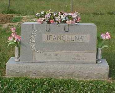 JEANGUENAT, PAUL F. - Scioto County, Ohio | PAUL F. JEANGUENAT - Ohio Gravestone Photos