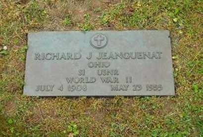 JEANGUENAT, RICHARD J. - Scioto County, Ohio | RICHARD J. JEANGUENAT - Ohio Gravestone Photos