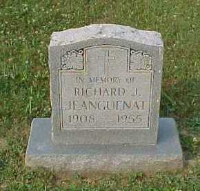 JEANGUENAT, RICHARD J. - Scioto County, Ohio | RICHARD J. JEANGUENAT - Ohio Gravestone Photos