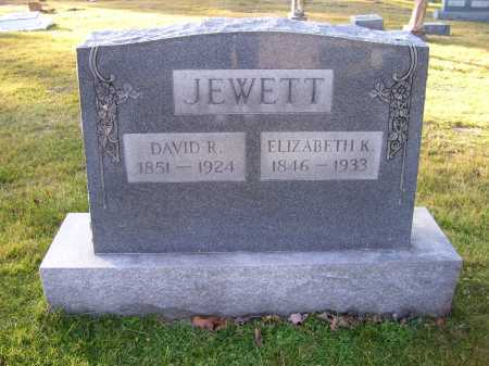 JEWETT, DAVID R. - Scioto County, Ohio | DAVID R. JEWETT - Ohio Gravestone Photos