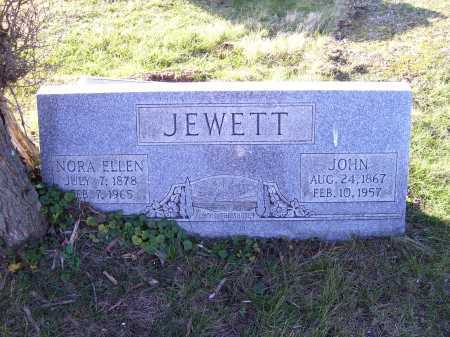 JEWETT, NORA ELLEN - Scioto County, Ohio | NORA ELLEN JEWETT - Ohio Gravestone Photos
