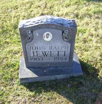 JEWETT, JOHN RALPH - Scioto County, Ohio | JOHN RALPH JEWETT - Ohio Gravestone Photos