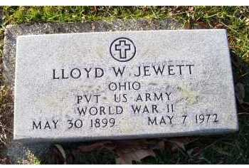 JEWETT, LLOYD W. - Scioto County, Ohio | LLOYD W. JEWETT - Ohio Gravestone Photos