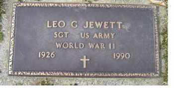 JEWETT, LEO G. - Scioto County, Ohio | LEO G. JEWETT - Ohio Gravestone Photos