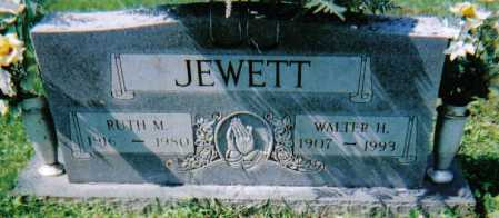 JEWETT, WALTER H. - Scioto County, Ohio | WALTER H. JEWETT - Ohio Gravestone Photos