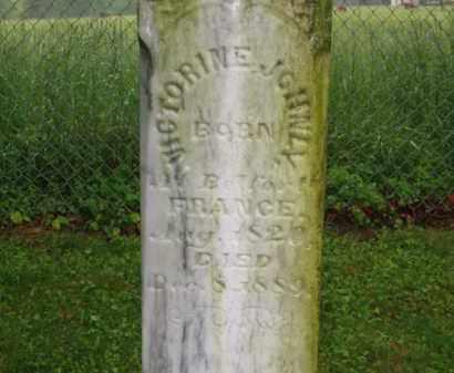 JOHNLY, VICTORINE - Scioto County, Ohio | VICTORINE JOHNLY - Ohio Gravestone Photos