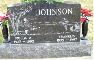 JOHNSON, FRIEDA M. - Scioto County, Ohio | FRIEDA M. JOHNSON - Ohio Gravestone Photos